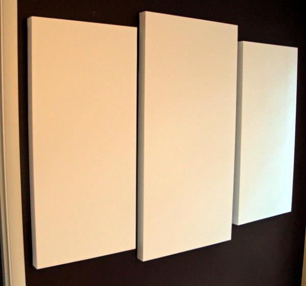 Three Big Blank Canvases