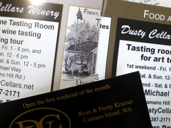 Ads for Dusty Cellars